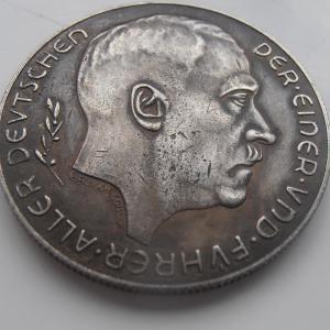 1938 Anschluss emlékmedál Adolf Hitler érem