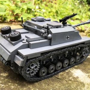 Sturmgeschütz III (StuG III) építőjáték 721 darabos + 3 bábú
