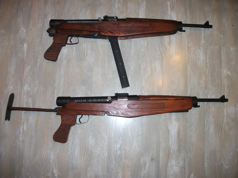 Hungarian Danuvia 43M submachine gun Király géppisztoly replika másolat