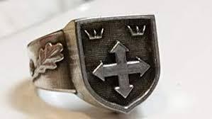 Hunyadi Waffen-SS Páncélgránátos Hadosztály bajtársi gyűrű II. verzió