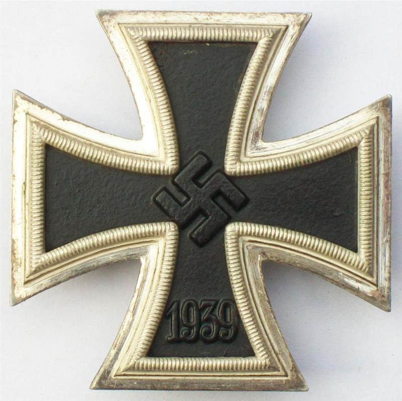 I. osztályú II. világháborús vaskereszt reprodukció - C.F. Zimmermann, Pforzheim.