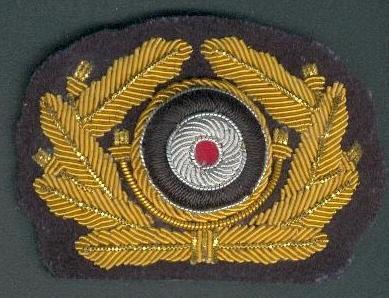 Német tábornok vezérőrnagy sapkarózsa