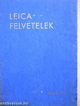 Németh József: Leica felvételek 1944