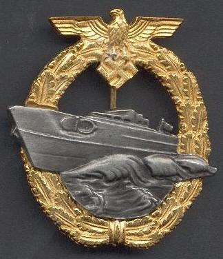 Schnellboot-Kriegsabzeichen, 2. Form