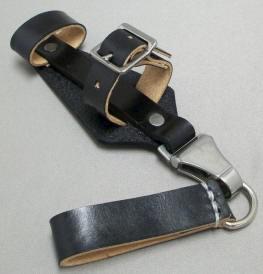 SS vagy SA tőrhöz bőr papucs, csatlék DRGM