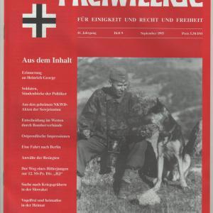 Der Freiwillige September 1995