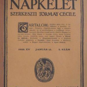 Napkelet XII. kötet 1928 július-december 13-24. szám egybekötve 960 oldal