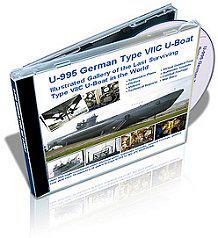 U-995 VII-C osztályú U-Boot 3D virtuális DVD