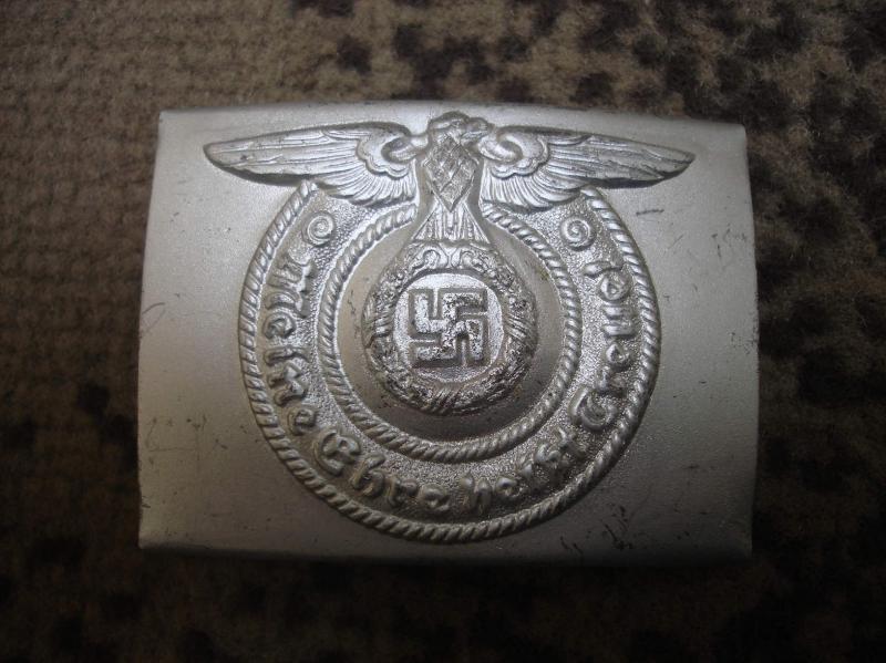 Waffen-SS legénységi övcsat RZM 36/42 belt buckle
