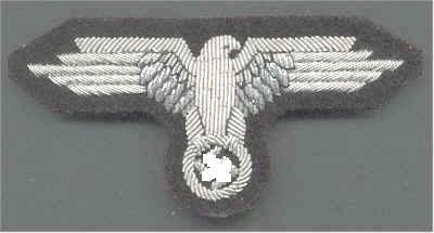 Waffen-SS tiszt karsas