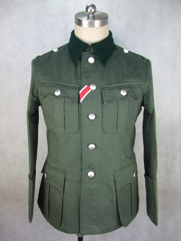 Wehrmacht M36 nyári zubbony
