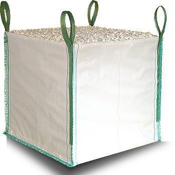 Big-Bag zsák 105x105x230 szoknyás-talpas, használt polipropilén konténer