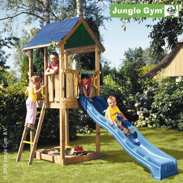 Jungle Gym CASTLE, S csúszda torony 2,2 m-es csúszdával
