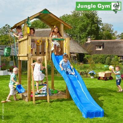 Jungle Gym CHALET, L csúszda torony 2,65 m-es csúszdával