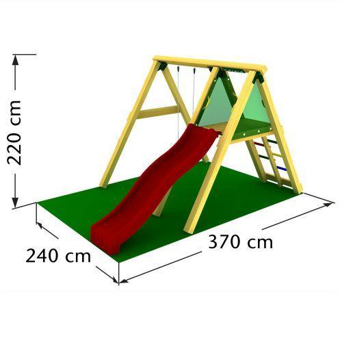 Jungle Gym PEAK mászóka 2,2 m csúszdával
