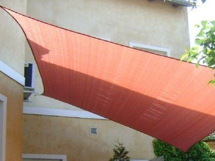 FullGarden négyszög vitorla 5,4 x 5,4 m, 220 g/m2