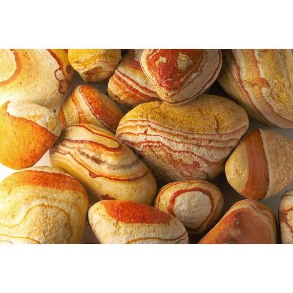 Szivárvány görgeteg kő 10-30cm