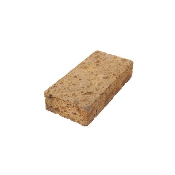 Tufatégla, barna 25x12x5,5 cm