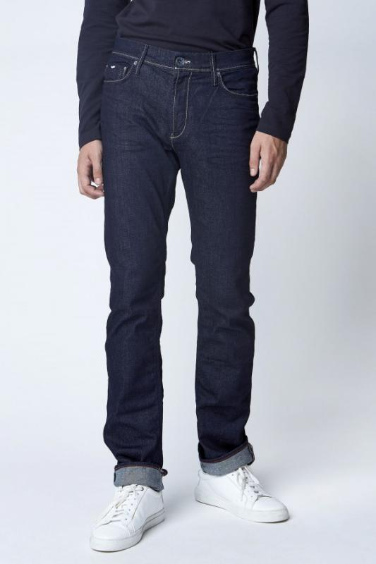 GAS JEANS NORTON K WK08 BLUE DENIM FÉRFI FARMER