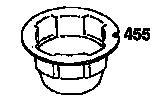 Indító csésze Quantum motorokhoz 2001-ig - 225121 eredeti gyári