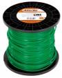 Oleo-Mac Greenline fűnyíró damil 3.0x10 kg kerek zöld