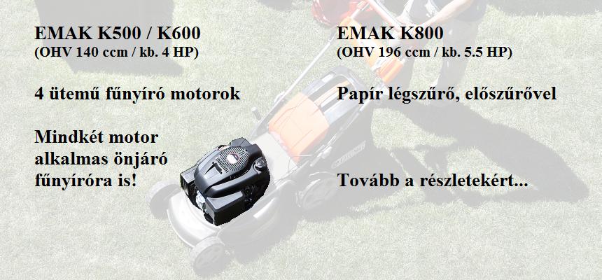 EMAK motorok