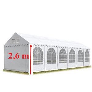 Rendezvénysátor PVC 550g/m2 ponyva 2,6 m