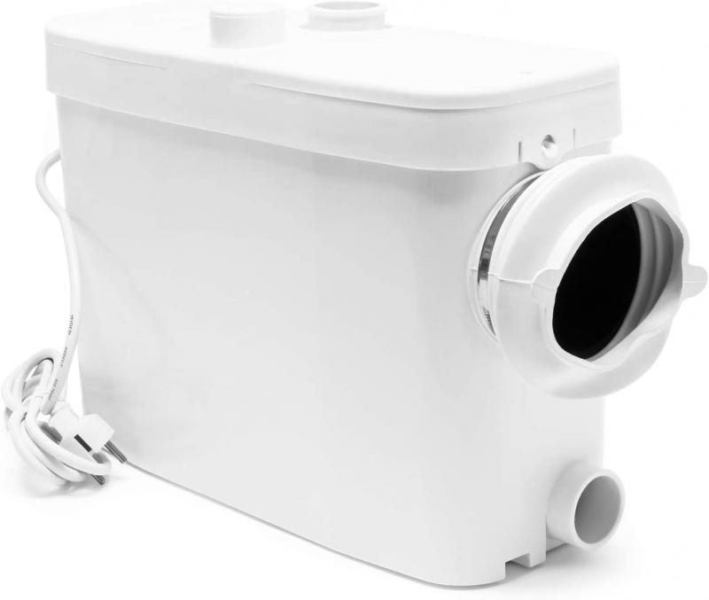 3/1 WC és háztartási szennyvízátemelő, darálós WC 450W oldalsó csatlakozással
