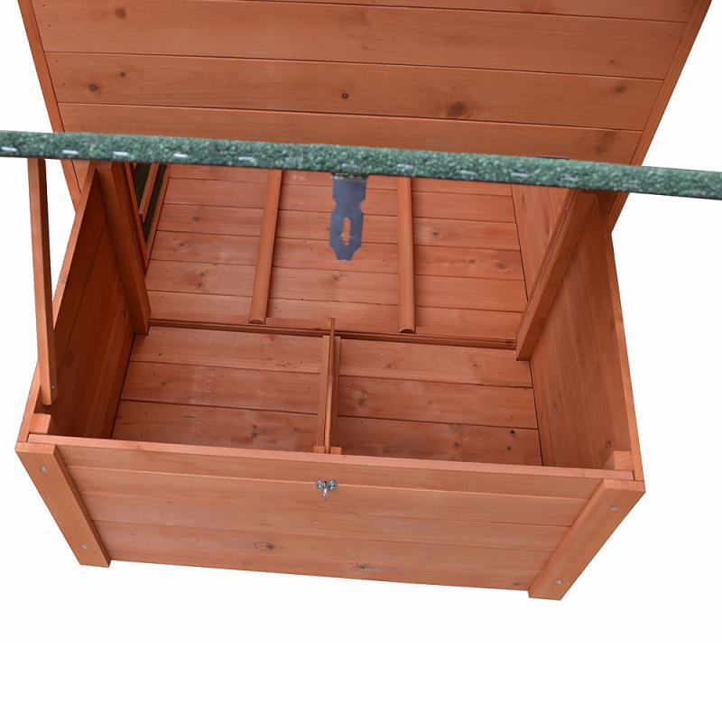 XXL Tyúkketrec, tyúkól fából fészkelőládával