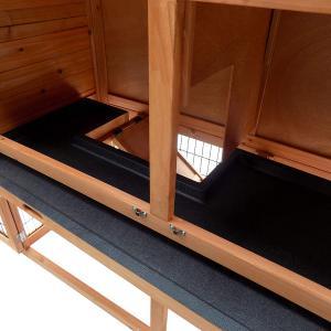 Boltíves tyúkketrec, tyúkól fából 120 x 56 x 98 cm