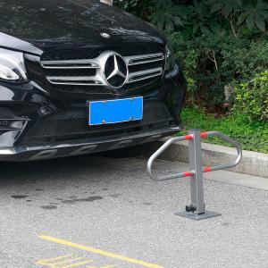 Parkolásgátló, parkolóőr T-alakú oszlop, tartozék 3db kulccsal, csavarral