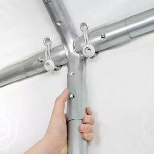 Rendezvénysátor, sörsátor 3x6m ponyva PE 240g/m2 fehér (18 m2)