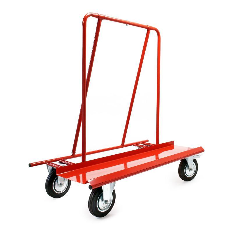 Gipszkarton szállító kézikocsi, molnárkocsi 800 kg terhelhetőség