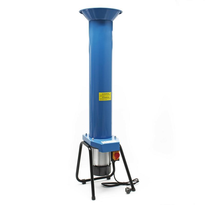 Gyümölcs aprító, daráló gép, cefre alapanyag elkészítő gép 1100W , 2800rpm 1000kg/h kék