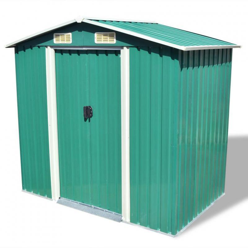 Kerti szerszám tároló, kerti ház 204x132 cm