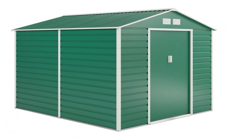 Kerti szerszám tároló, kerti ház 8,8m2 zöld