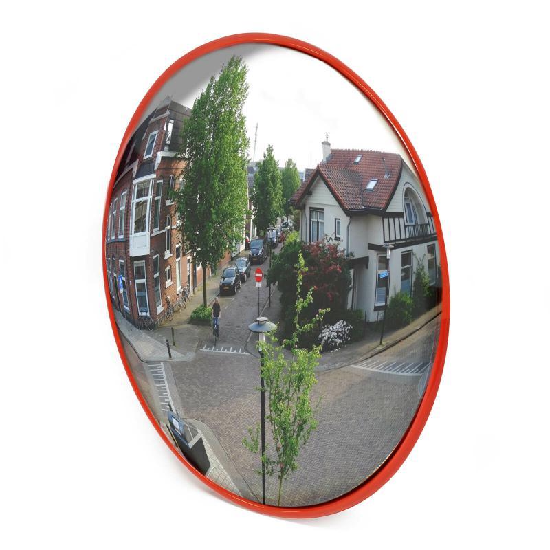 Közlekedési, forgalomtechnikai panoráma tükör 45 cm
