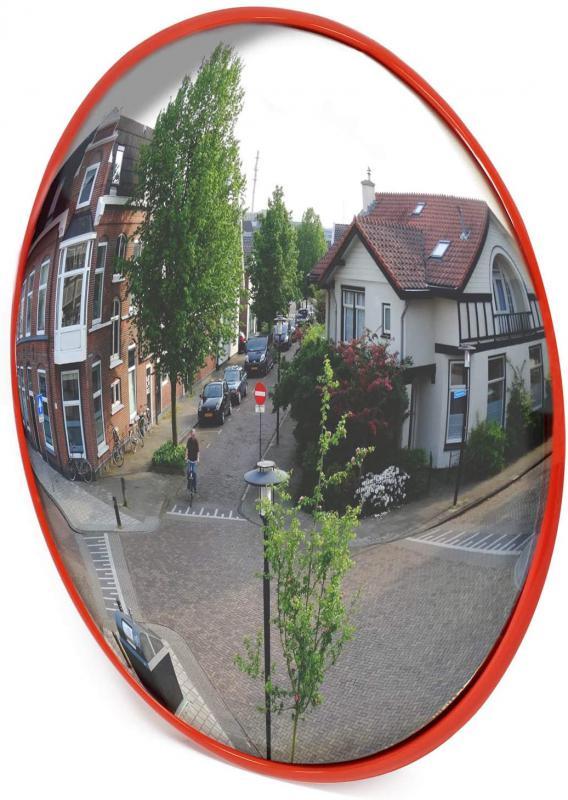 Közlekedési, forgalomtechnikai panoráma tükör 60 cm