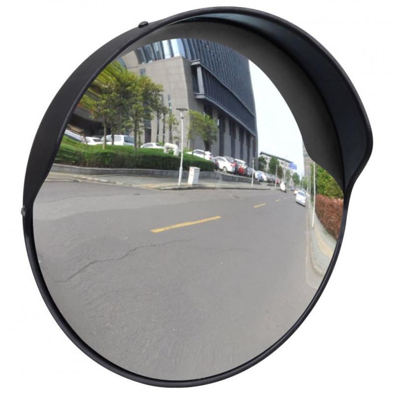 Közlekedési tükör, forgalomtechnikai tükör 30 cm fekete