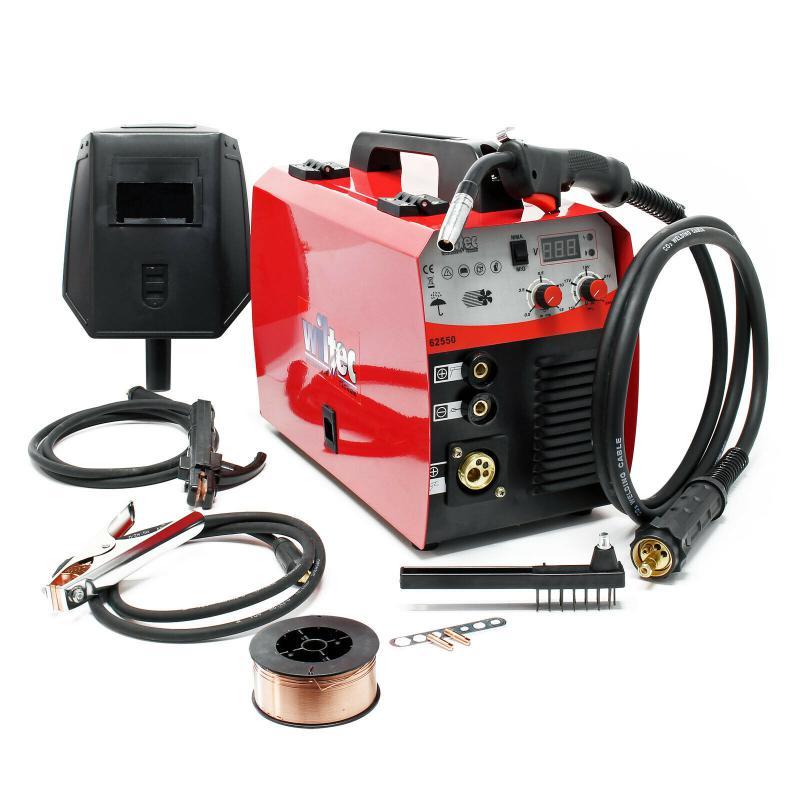 MIG - MAG hegesztőgép 40-160 AMPER 0,6-0,8 mm magos huzalhoz