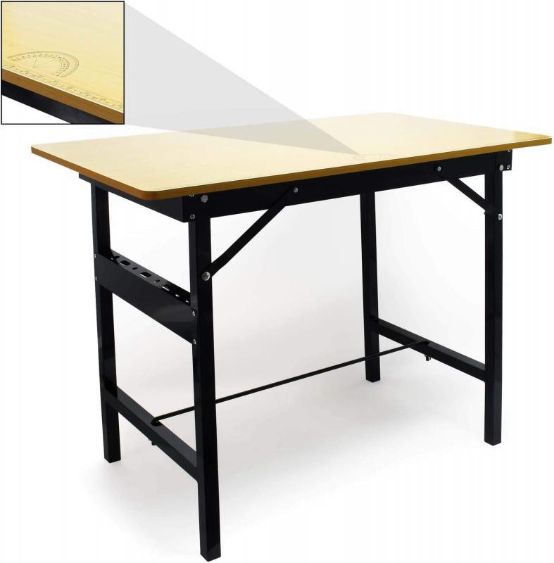 Munkaasztal, munkapad szögmérővel, 150 kg terhelhetőség