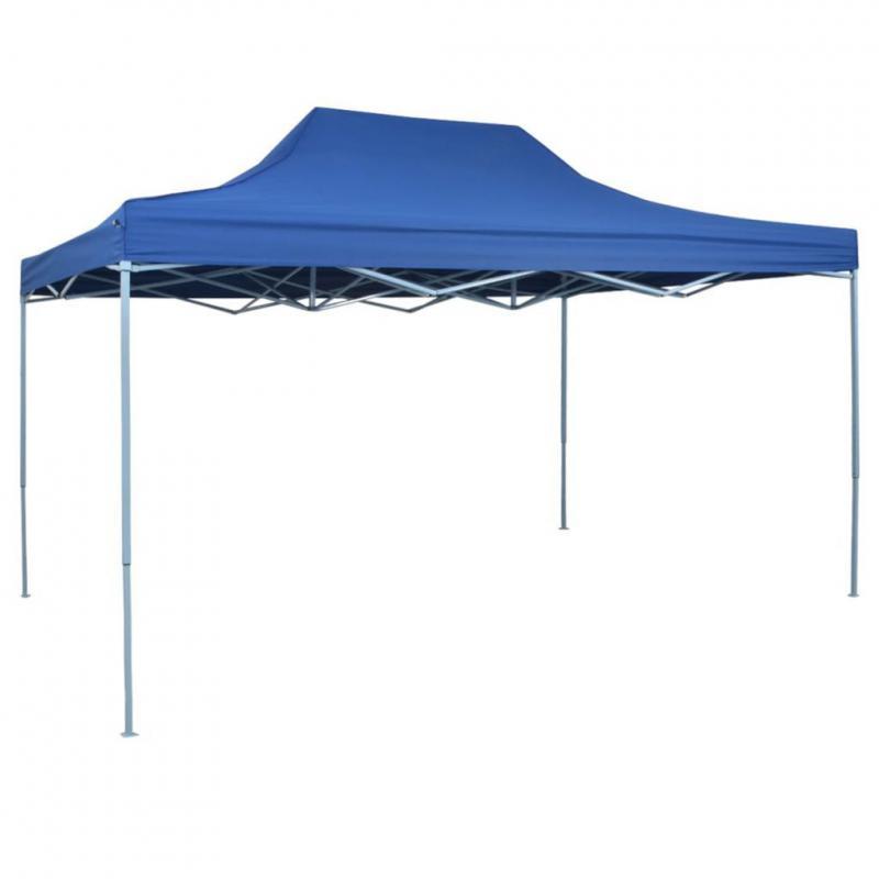 Pop-up  pavilon,  rendezvénysátor 3x4,5 m kék