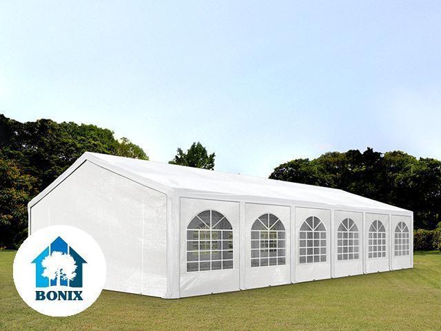 Premium  Pavilon, sörsátor rendezvénysátor 6x12 m,  ponyva 240g/m2 fehér (72m2)