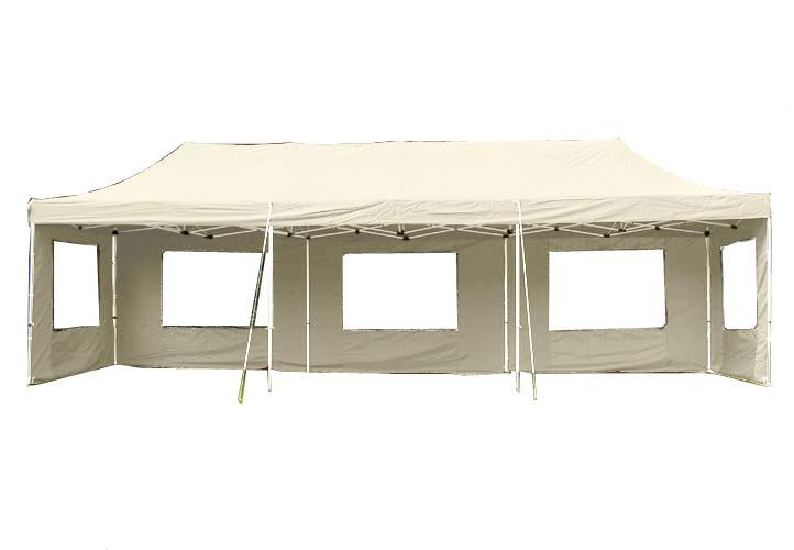 PROFI alumínium szerkezetes pop-up pavilon rendezvénysátor 3x9m hordozótáskával pezsgő