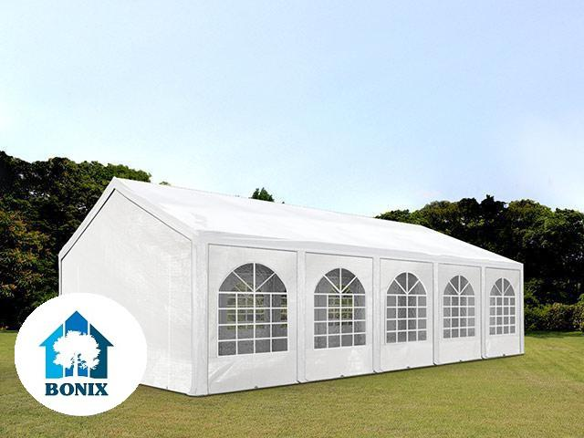 XL Premium rendezvénysátor 4x10 m, ponyva PE 240g/m2 fehér