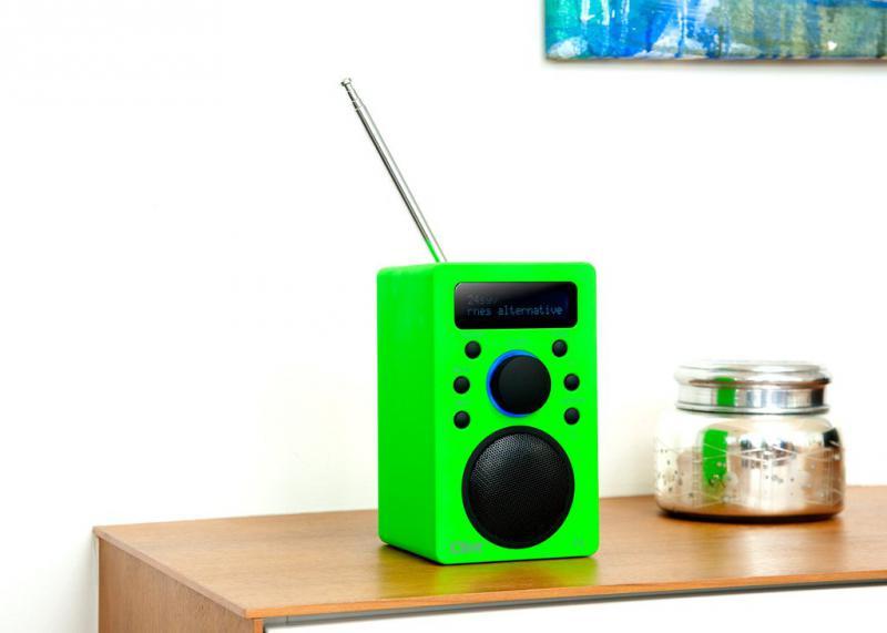 Clint Portable DAB /FM Rádió F4 Neon zöld