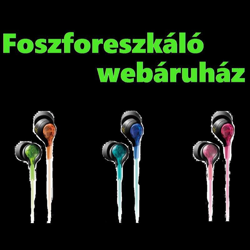 """Kék fluoreszkáló fülhallgató TDK LoR """"Glow in the Dark"""" SIE20"""