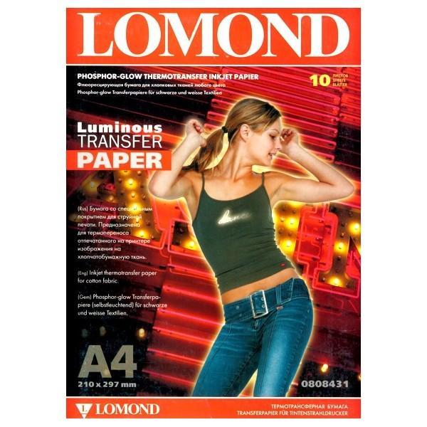 Fluoreszkáló fotópapír polóra A4/10 LOMOND