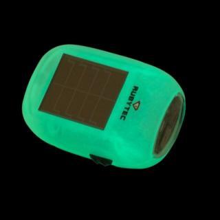 Foszforeszkáló napelemes kulcstartó-dinamólámpa