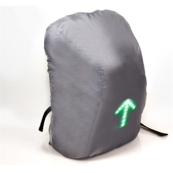 """LED jelzőfényes hátizsák, PORT Notebook táska 15,6"""" GO LED"""